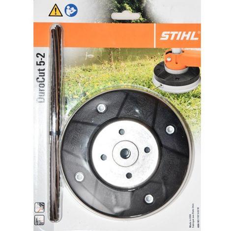 1X Aluminium Fadenkopf RUND Mähkopf Doppelfadenkopf für Benzin Motorsense Spule