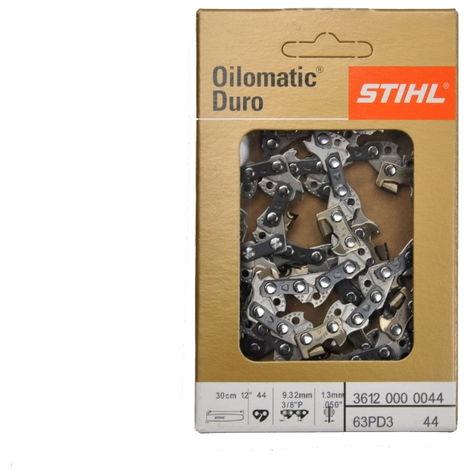 """Stihl chaîne de scie Picco Duro 3 (PD3) 3/8""""P 1,3 mm 30 cm 36120000044"""