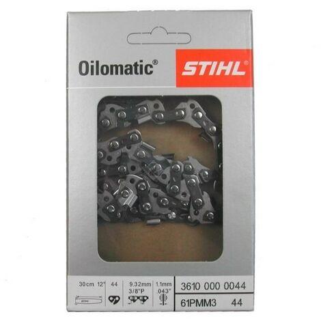 """Stihl chaîne de scie Picco Micro 3 (PM3) 3/8""""P 1,3 mm 30 cm 36360000044"""