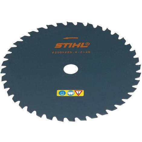Stihl Couteau à herbes anti projections 250mm à 40 dents 40007133806