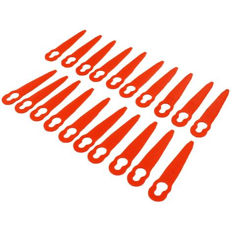 """main image of """"Stihl FSA45 Grass Trimmer Plastic Blades Pack of 20"""""""