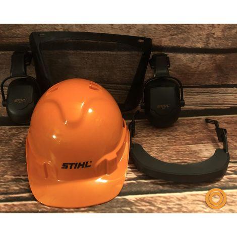 STIHL Helmset FUNCTION BASIC 00008880803 Visier Gehörschutz Forsthelm