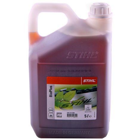 Stihl, olio bio plus per catena di motosega, bottiglia da 1 litro, 7815163001 (etichetta in lingua italiana non garantita)