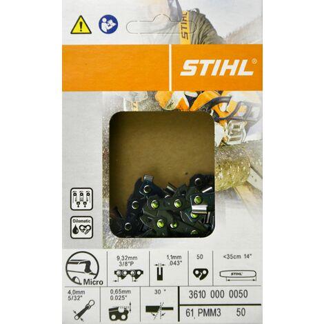 1 x Stihl Sägekette 3617 000 0051 35cm 3//8 1,3 TG 51 PS3 Picco Super Vollmeißel