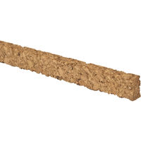 Stikatak Cork Expansion Flooring Gap Insert Strips For Laminate and Real Wood Flooring (Pack of 18)