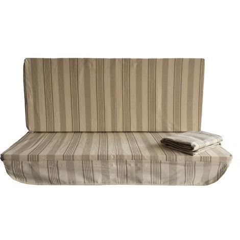 Cuscino Per Seduta Corretta.Stiliac Cuscino Per Dondolo A 3 Posti Con Cappotta Seduta Da 135