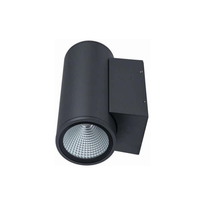 LED Wandleuchte Doble 2-flammig 24 Watt Wandlampe innen außen Licht nach oben unten