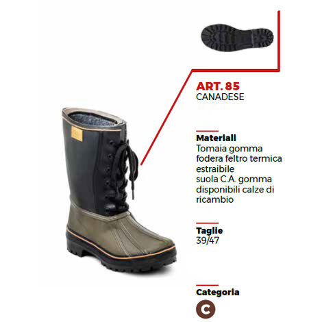 Stivali di gomma Stivali professionale Webpelz lavoro spirale Stivali Stivali invernali breve