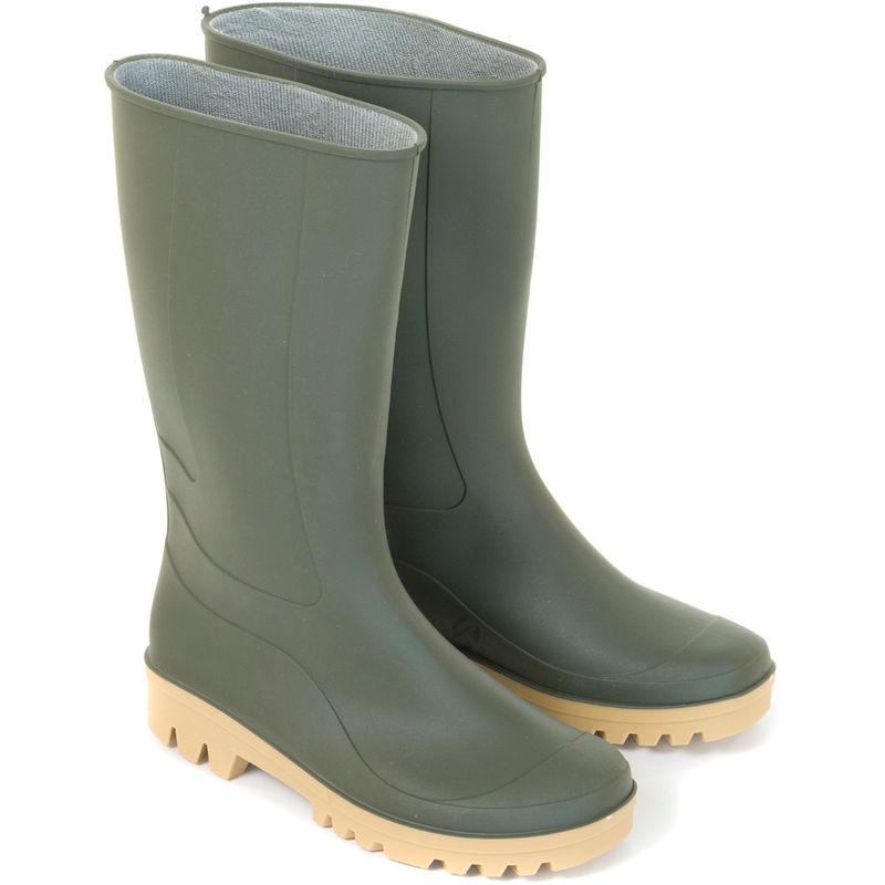Rosa Pvc Di Sicurezza Da Lavoro Impermeabili Stivali Da