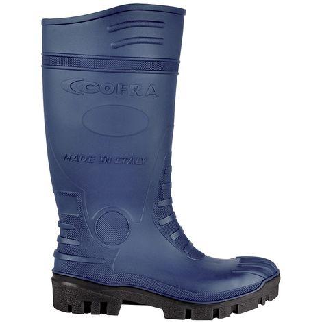 7537e684fe08ef Stivali da lavoro Cofra Typhoon Blue/Black S5