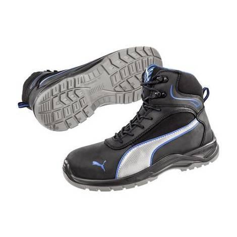 Stivali di sicurezza S3 Misura: 42 Nero, Blu, Argento PUMA Safety Atomic Mid SRC 633600 42 1 Paia
