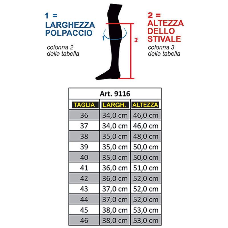 Stivali per equitazione Sevilla per donna e uomo alti e stretti HKM Classic