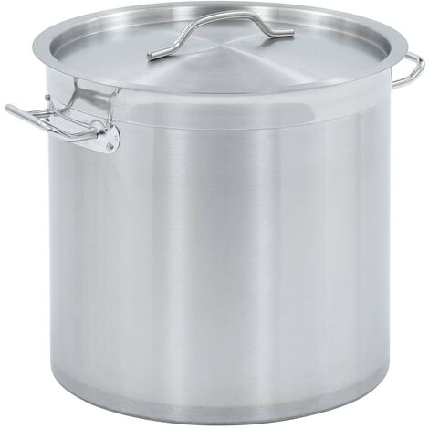 Stock Pot 25 L 32x32 cm Stainless Steel