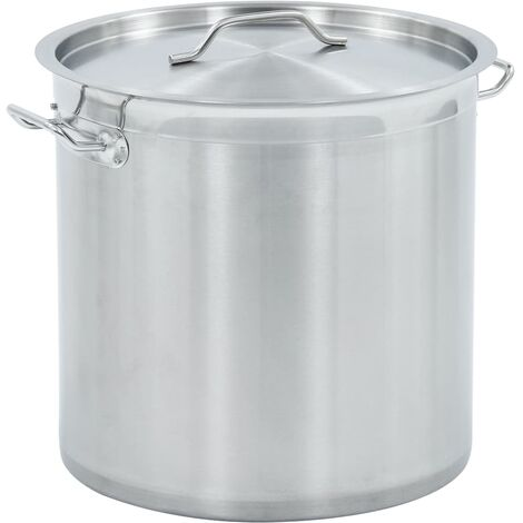 Stock Pot 33 L 35x35 cm Stainless Steel