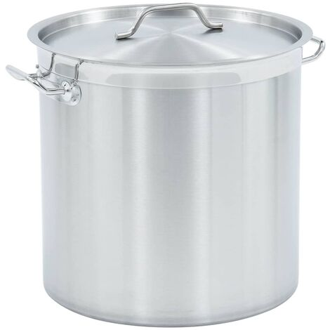 Stock Pot 50 L 40x40 cm Stainless Steel
