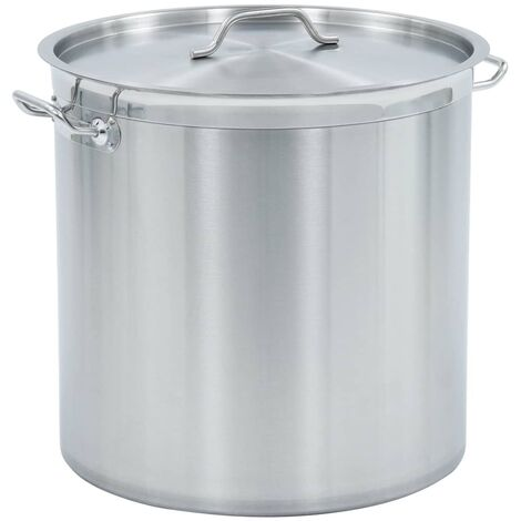 Stock Pot 71 L 45x45 cm Stainless Steel