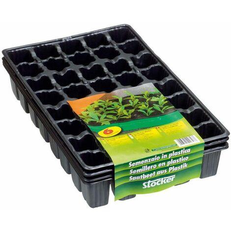 Stocker SEMENZAIO IN PLASTICA 40 FORI - Ricambio per Art.9624 - 6 vassoi