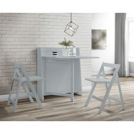 Stockholm Compact Folding Light Grey Set