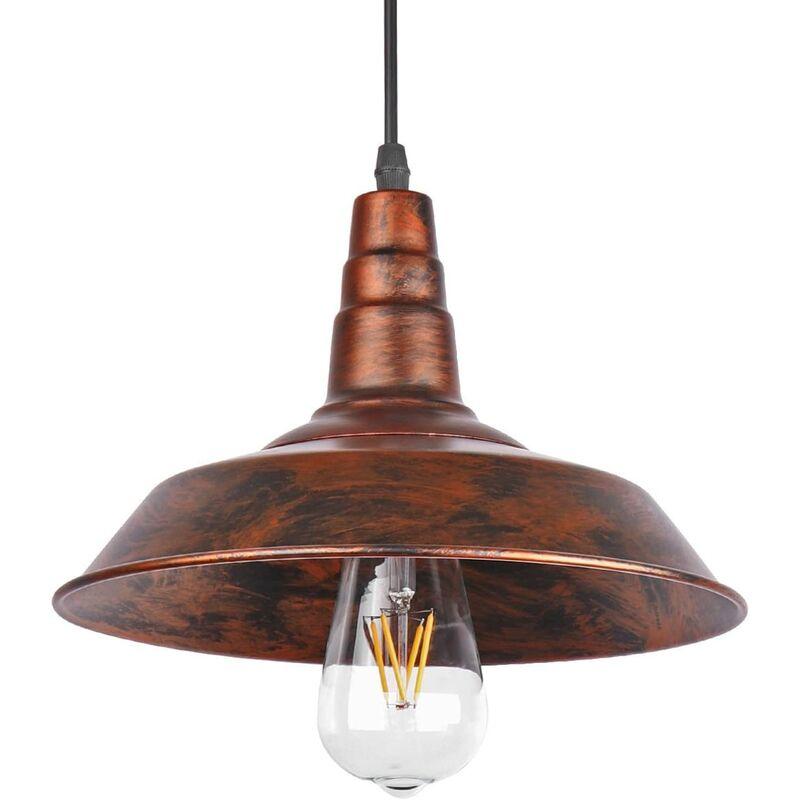 STOEX lámparas Industrial Sombrero Vintage Retro Loft de café de la barra de iluminación Luminaria colgante de techo luz para las bombillas E27 Edison