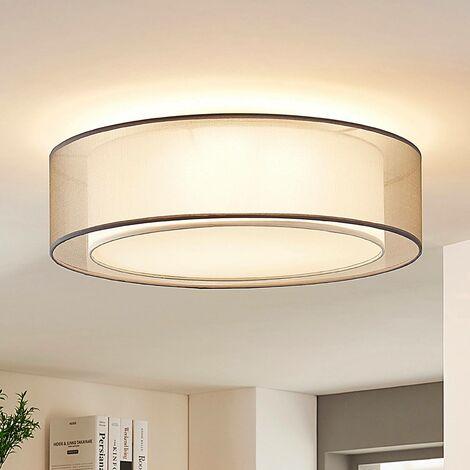 LED Deckenlampe Marga Lampenwelt Dimmbar Länge verstellbar Leuchte Küche Weiß