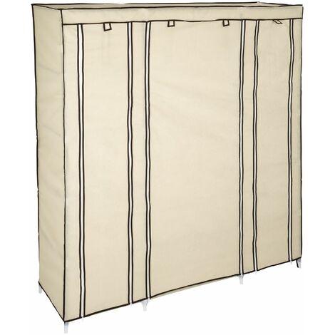 Stoffschrank 12 Fächer - Kleiderschrank, Faltschrank, Garderobenschrank