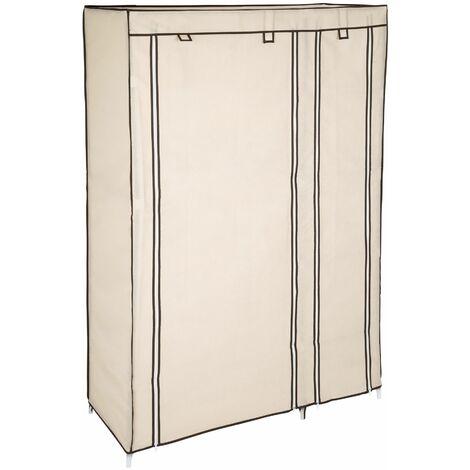 Stoffschrank 6 Fächer - Kleiderschrank, Faltschrank, Garderobenschrank