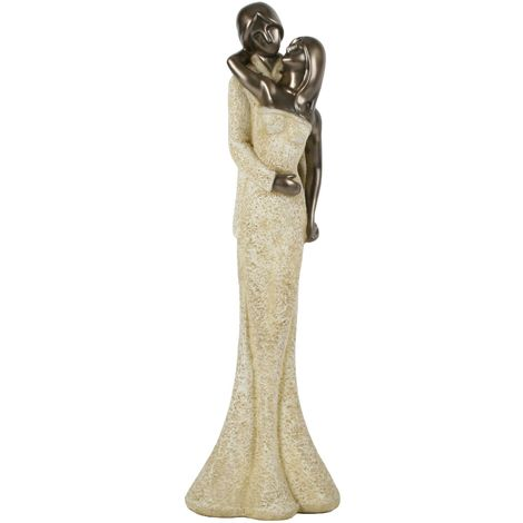 Stone Portraits Figurine - Couple
