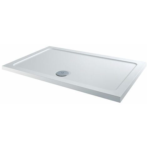 """main image of """"Stone Resin Shower Trays Rectangular 900x700 and Waste"""""""