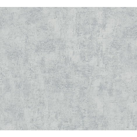 Stone tile wallpaper wall Profhome 224033-GU non-woven wallpaper slightly textured with tangible texture matt grey 5.33 m2 (57 ft2)