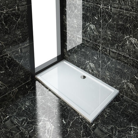 Stone Tray for Shower Enclosure Cubicle + Waste Trap
