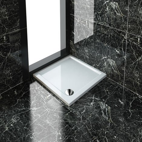 """main image of """"Stone Tray for Shower Enclosure Cubicle + Waste Trap"""""""