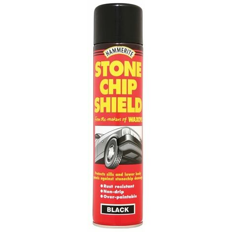 Stonechip Shield Black Aerosol 600ml (HMMSCSBA600)