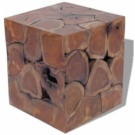 """main image of """"Stool Solid Teak Wood"""""""