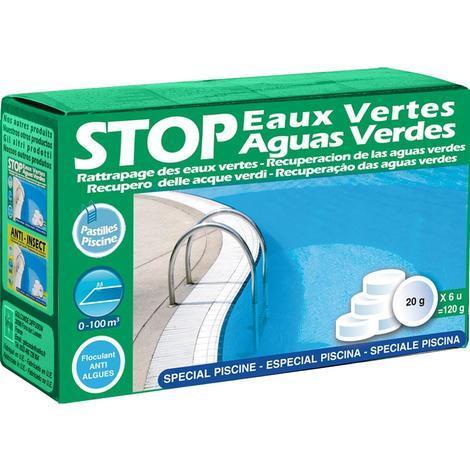 Antialgas preventivo para piscina