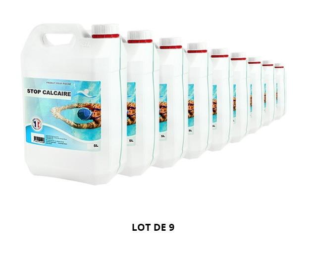 Stop calcaire - 9x5L de Anti-calcaire - Swimmer