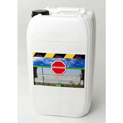 STOPSCREEN - STOPSCREEN eliminates shade paint | Transparent Liquid - 20 l