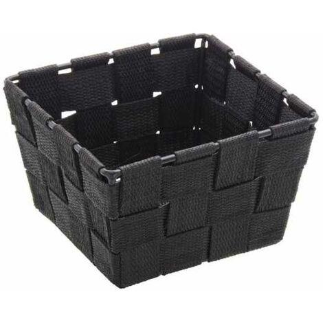 Storage basket Adria Mini Square Black WENKO
