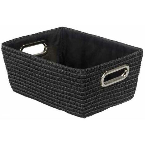 Storage basket Chromo Black WENKO