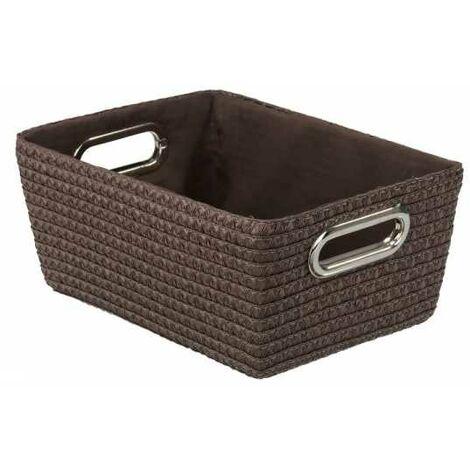 Storage basket Chromo Brown WENKO