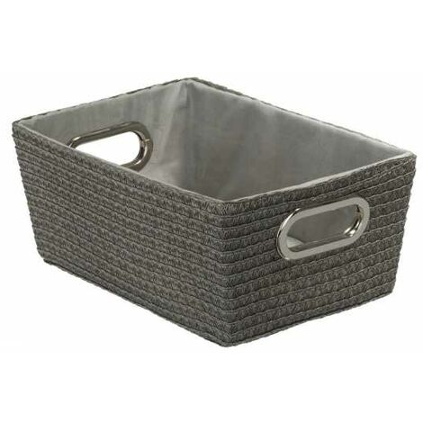 Storage basket Chromo Grey WENKO