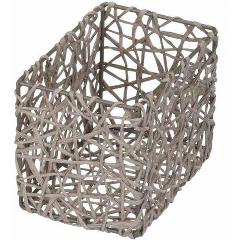 Storage basket Curly Taupe WENKO