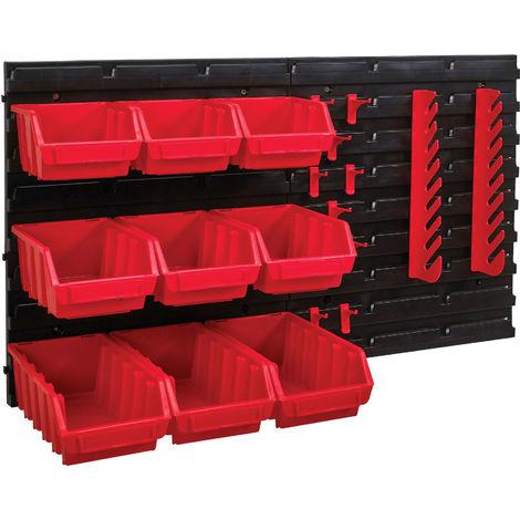Storage Bin Set, 12 Piece