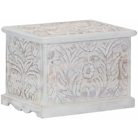 Storage Box 58x40x40 cm Solid Acacia Wood