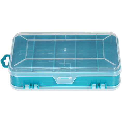 Storage Box Container For Electronic Components And Parts blue