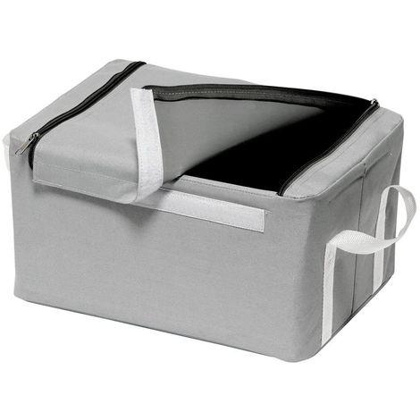 Storage Box,Grey/White Trim