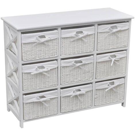 Storage Cabinet Akron White
