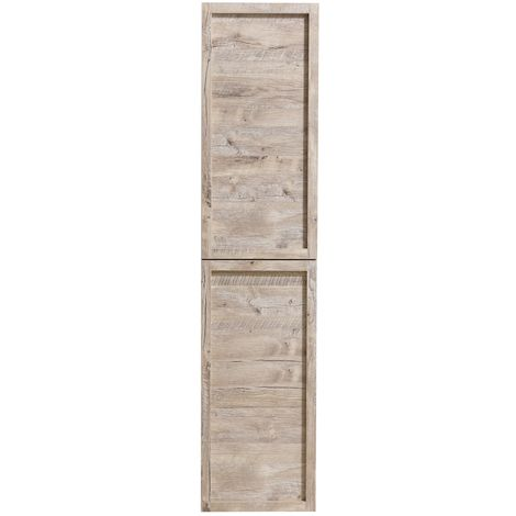 Storage cabinet Vermont 172cm Nature wood - Storage cabinet tall cupboard bathroom furniture