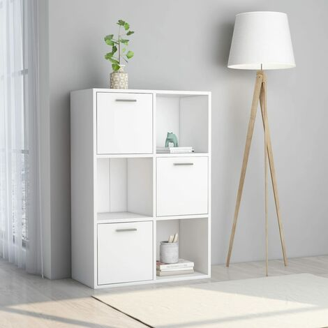 Storage Cabinet White 60x29.5x90 cm Chipboard