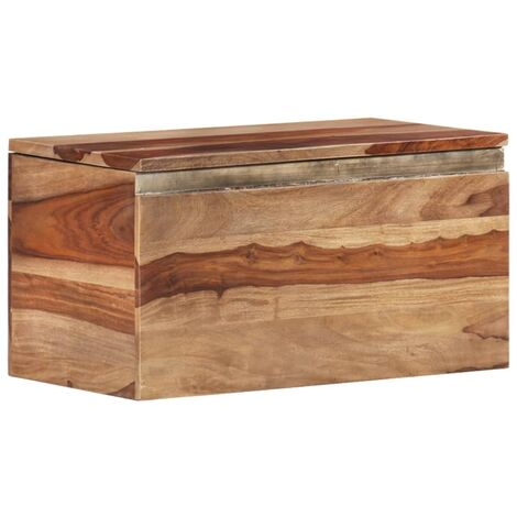 Storage Chest 30x30x57 cm Solid Sheesham Wood