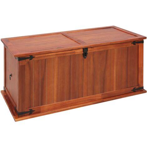 Storage Chest 79x34x32 cm Solid Acacia Wood